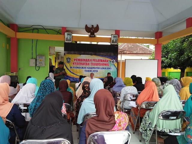 Gandeng Puskesmas, Forkopimka Sumbersuko Berikan Pembinaan Pelayanan Kesehatan Tradisional