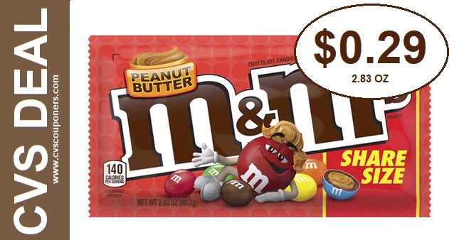 Clearance Deals on M&M's at CVS