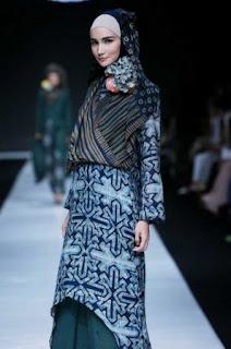 Trend Fashion Batik Muslim 2015