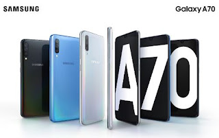 Cara Screenshot Galaxy A70