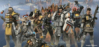 Figure: How many characters were available to choose from at Apex Legend's launch?