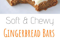 Gingerbread Bars with Cream Cheese Icing