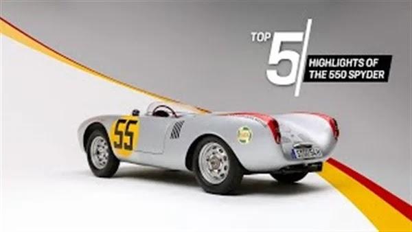 Watch ... Porsche releases video explaining the legendary Spyder 550