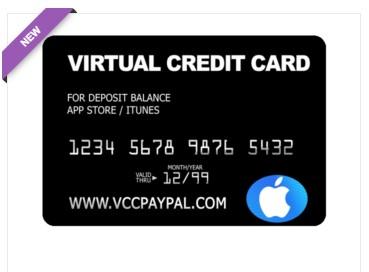 Jual VCC Itunes App Store (Tambah Saldo)