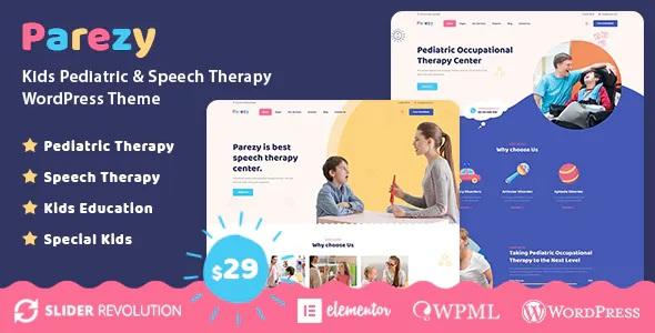 Parezy Kids Speech Therapy Education