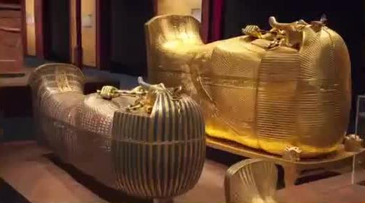 10 CURSED OBJECTS AROUND THE WORLD SCIENCE CAN'T EXPLAIN 1. King Tut's Tomb