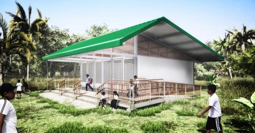 MINEDU: Proyecto de Ficha de Homologación Módulo Prefabricado Aula tipo Selva (.PDF)