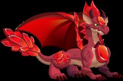 Dragón Rubí