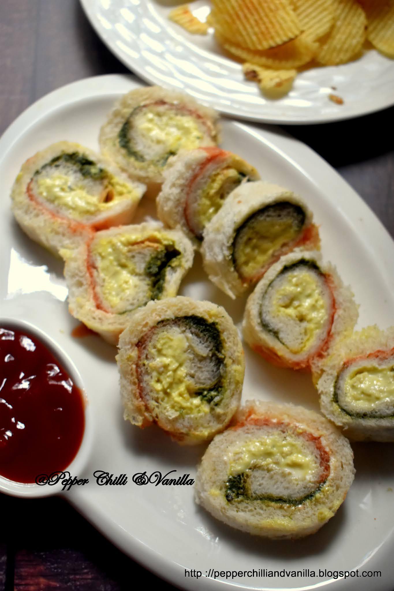 easy pinwheel sandwich recipe