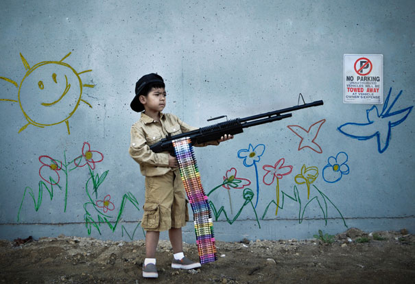 Banksy Artwork Recreated in Real Life-5