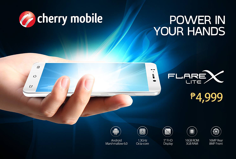 Cherry Mobile Flare X Lite With 3 GB RAM Now Official, Priced At 4999 Pesos Only!