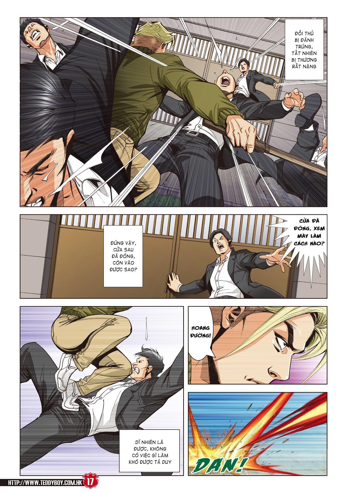Người Trong Giang Hồ chapter 2067: ánh tỉ làm phản trang 15