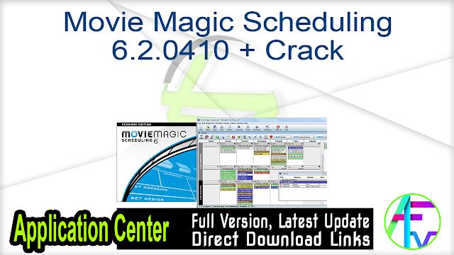 Movie Magic Scheduling 6.2.0410 + Crack