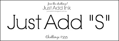 Jo's Stamping Spot - Just Add Ink Challenge #533