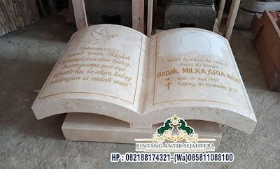 Nisan Marmer Buku, Model Nisan Kuburan Marmer