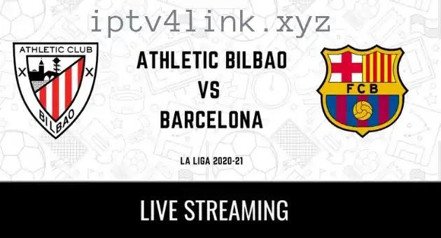 بت مباشر لمباراة اليوم Athletic Bilbao Vs Barcelona