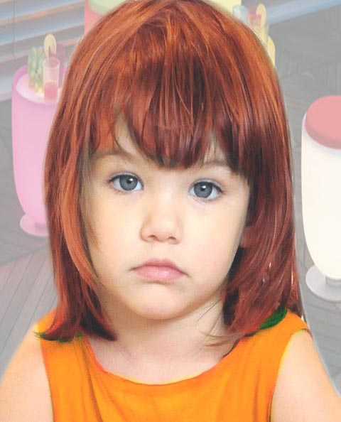 Haircut Of Girl Child: Short Hair Style Guide And Photo: Bangs Hairstyle Of Children