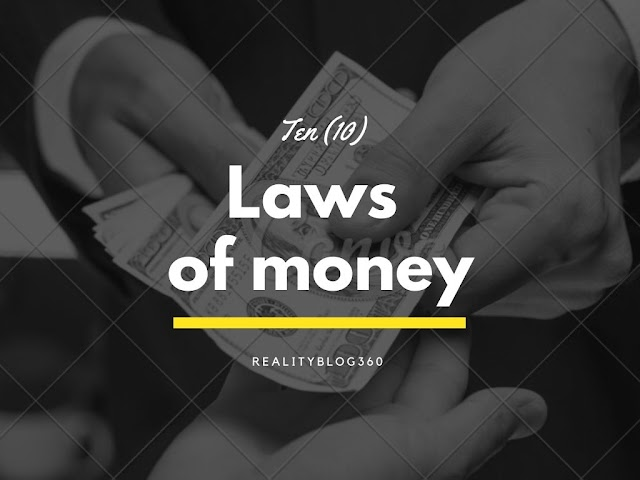 TEN LAWS OF MONEY