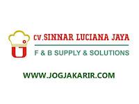 Lowongan Kerja Yogyakarta, Semarang & Tegal Salesman di Sinnar Luciana Jaya