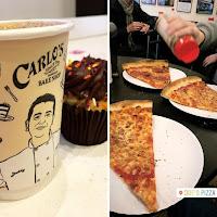 cafe, cupcake y pizza
