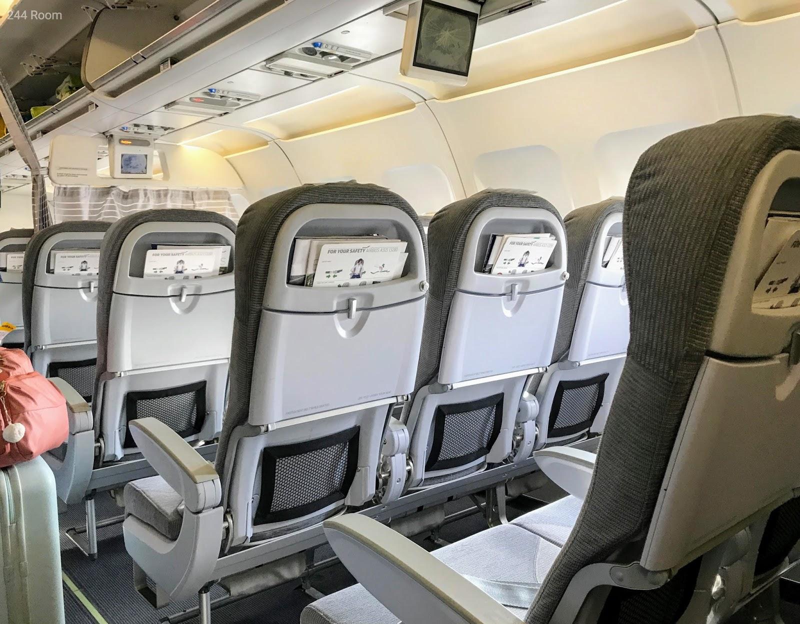 Finair A321 Seat