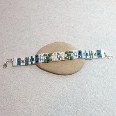 Loom created Adonnah Langer Style bracelet