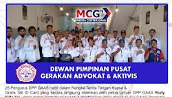 Jalin Silaturahmi lewat Agenda Pertemuan Sesama pengurus Dewan Pimpinan Pusat Gerakan Advokat & Aktivis di New Normal Jakarta Pusat