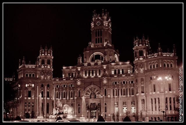 Palacio de Cibeles (Ayuntamiento Madrid)