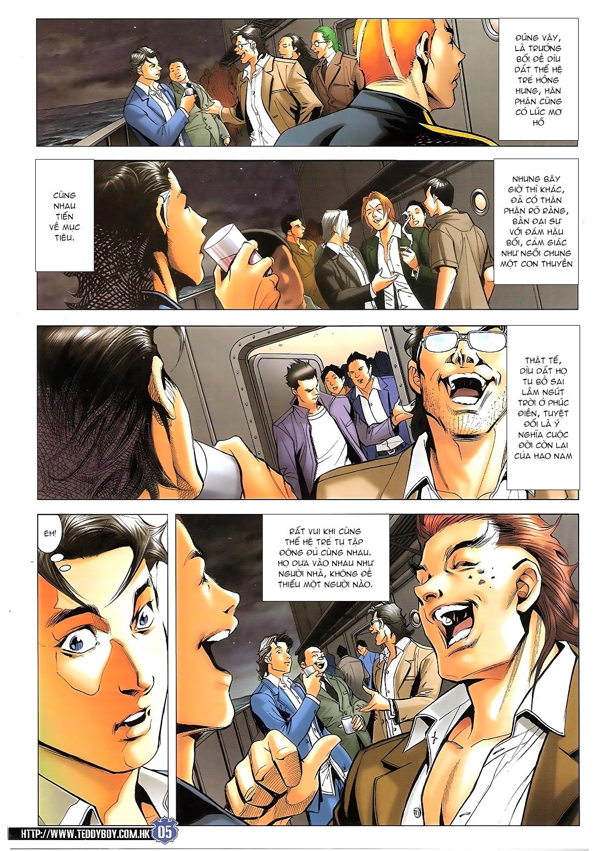 Người Trong Giang Hồ chapter 1645: làm khó đại b chảy trang 3