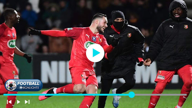 Angers SCO vs Rennes – Highlights