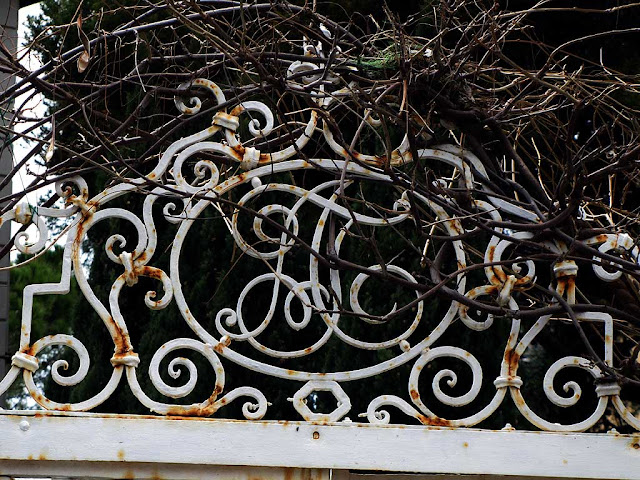 Wrought iron initials, Livorno