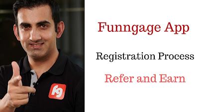 Funngage Referral Code ( 744488965 ) | On Signup 10 Rs + 10 Rs on