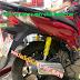 Sơn mâm xe máy Honda SH màu đen bóng cực đẹp tại Tp.HCM