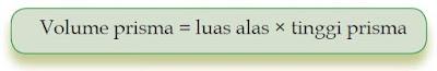 Rumus Volume Prisma dan Contoh Soal Volume Prisma