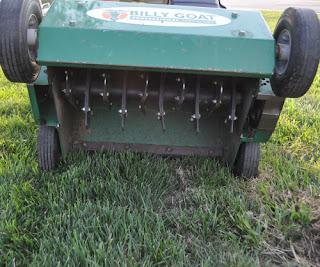 Grass Pad Verticutter
