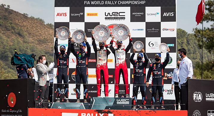 현대 월드랠리팀, 2020 WRC 5차 터키 랠리 준우승