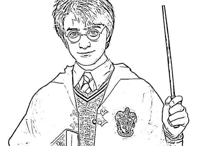 Harry Potter coloring pages holiday.filminspector.com