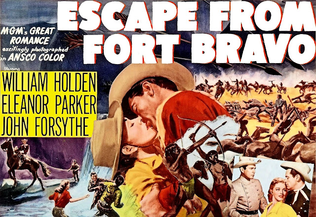 Escape from Fort Bravo (1953) Full streaming Western movie and best quotes