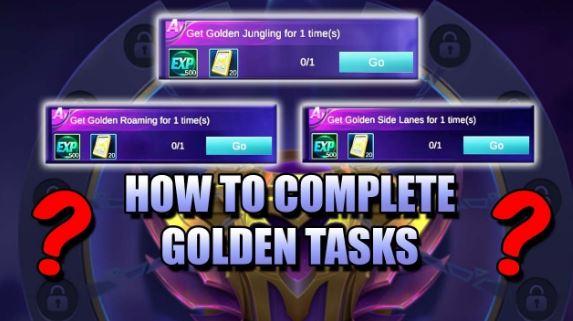 menyelesaikan get golden roaming ML