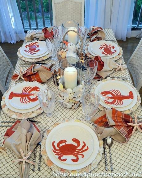 Fishnet Tablecloth Ideas