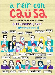 Gran encuentro A REIR CON CAUSA 2019 | Movistar Arena