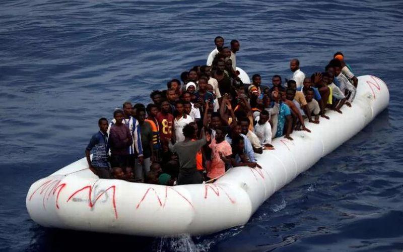 Imigran Asal Sri Langka terdampar di Nias