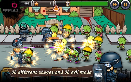SWAT and Zombies Games