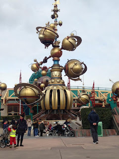 Astro Orbitor in Discoveryland at Disneyland Paris