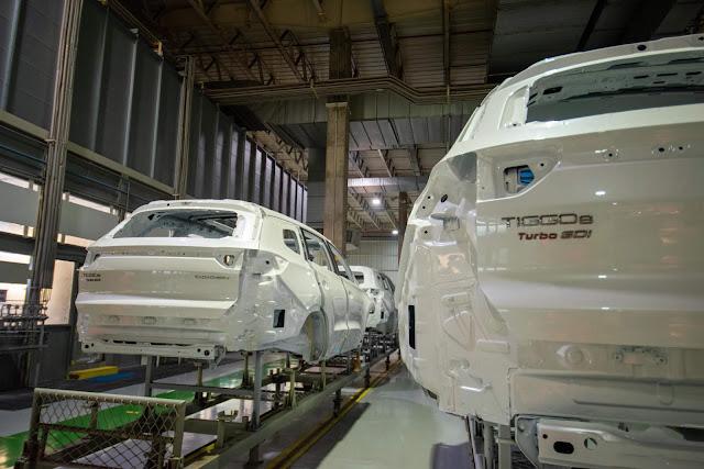 Fábrica de Anápolis da CAOA CHERY atinge a 20 mil carros produzidos