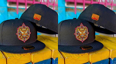 "Hat Club Exclusive Urban Aztec ""Lucha Azteca"" 59FIFTY New Era Fitted Hat by Jesse Hernandez"