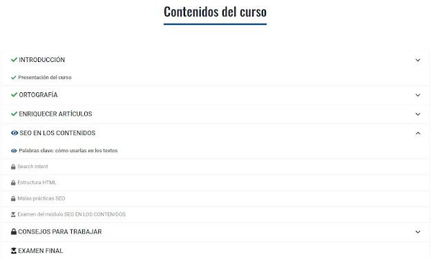 contenidos curso redactor de contenidos redactium_com