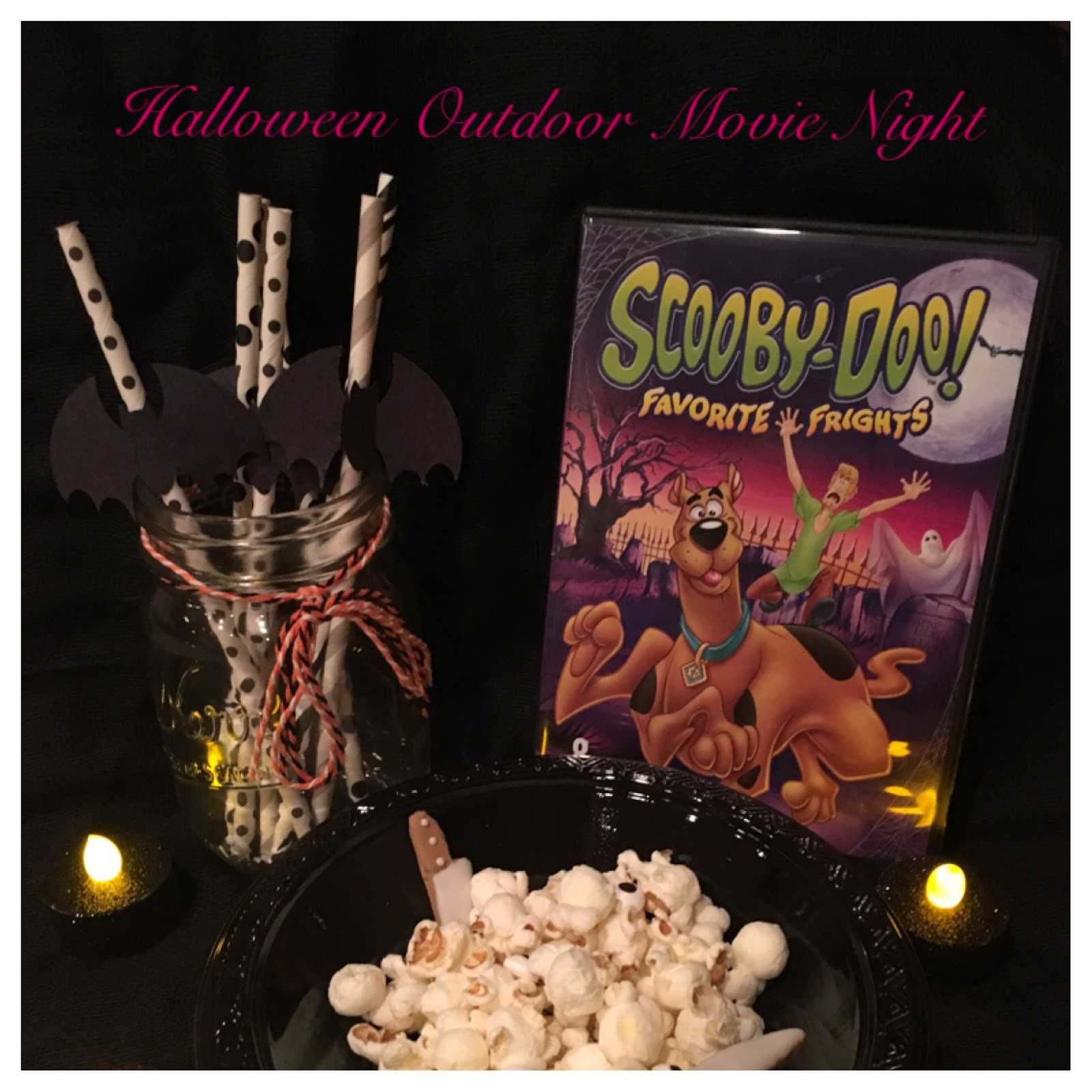 Mrs. Party Planner: Outdoor Halloween Movie Night