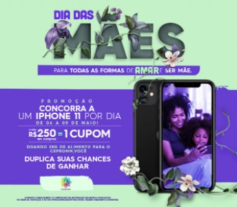 Cadastrar Promoção Norte Shopping Dia das Mães 2021 iPhones 12