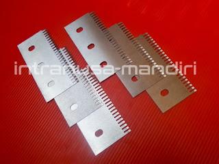 pisau perforasi, pisau zig zag, pisau kemasan renteng, pisau industri intranusa mandiri 0372